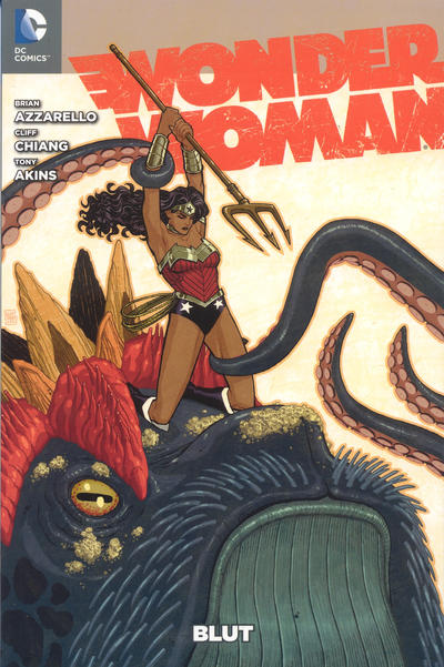 Cover for Wonder Woman (Panini Deutschland, 2012 series) #1 - Blut