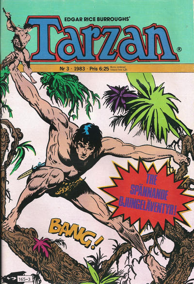 Cover for Tarzan (1977 series) #3/1983