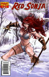 Cover Thumbnail for Red Sonja (2005 series) #49 [Cover B by Fabiano Neves]
