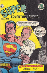 Cover Thumbnail for Super Adventure Comic (K. G. Murray, 1960 series) #43