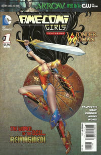 Cover Thumbnail for Ame-Comi Girls (DC, 2012 series) #1
