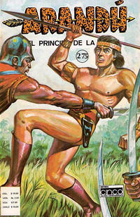 Cover Thumbnail for Arand, El Prncipe de la Selva (Editora Cinco, 1977 series) #275