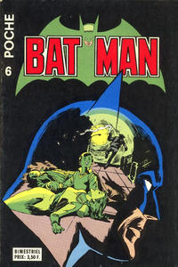 Cover Thumbnail for Batman Poche (Sage - Sagédition, 1976 series) #6