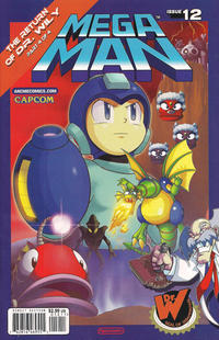 Cover for Mega Man (2011 series) #12
