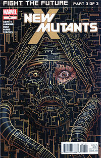 Cover for New Mutants (2009 series) #49