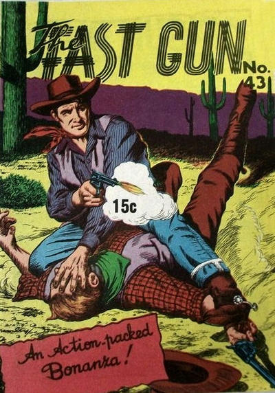 Cover for The Fast Gun (Yaffa / Page, 1967 ? series) #43