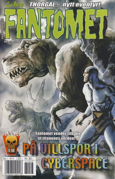 Cover for Fantomet (Egmont Serieforlaget, 1998 series) #23/2006