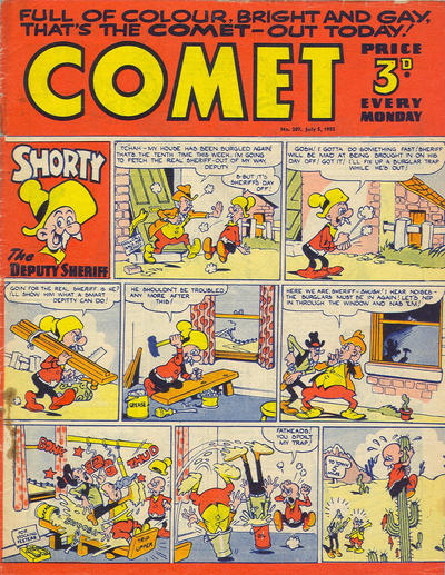 Cover for Comet (Amalgamated Press, 1952 series) #207