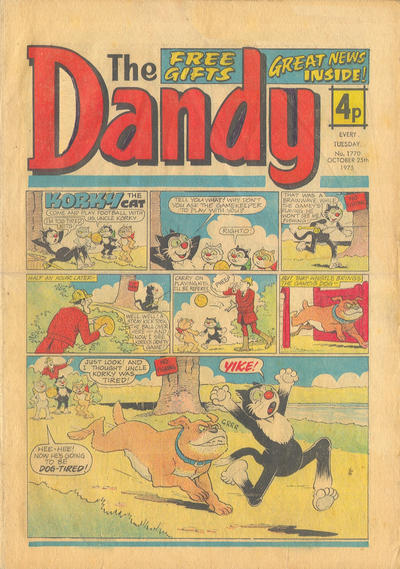 Cover for The Dandy (D.C. Thomson, 1950 series) #1770
