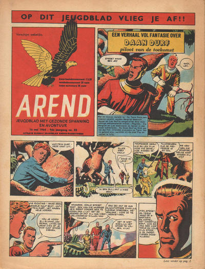 Cover for Arend (Bureau Arend, 1955 series) #Jaargang 9/33