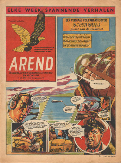 Cover for Arend (1955 series) #Jaargang 9/41