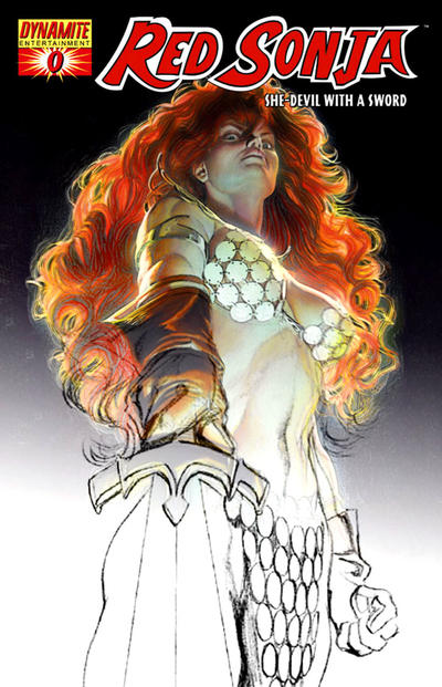 Cover for Red Sonja (Dynamite Entertainment, 2005 series) #0 [Cover B]