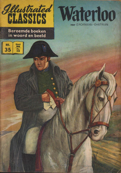 Cover for Illustrated Classics (Classics/Williams, 1956 series) #35 - Waterloo [HRN 114]