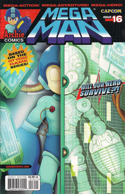 Cover for Mega Man (2011 series) #16