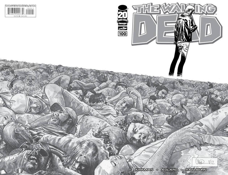 Cover for The Walking Dead (2003 series) #100 [Cover E]