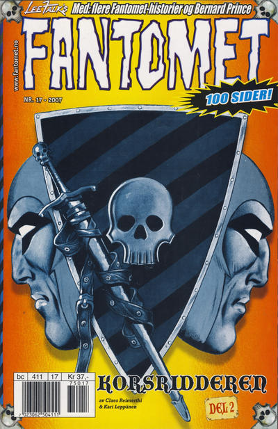 Cover for Fantomet (Egmont Serieforlaget, 1998 series) #17/2007