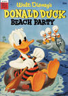 Cover for Walt Disney's Donald Duck Beach Party (Dell, 1954 series) #1 [30¢ edition]