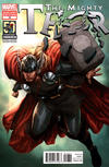 Cover Thumbnail for The Mighty Thor (2011 series) #18 [Thor 50th Anniversary Variant Cover by Steve McNiven]