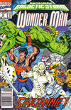 Cover for Wonder Man (Marvel, 1991 series) #8 [Newsstand]