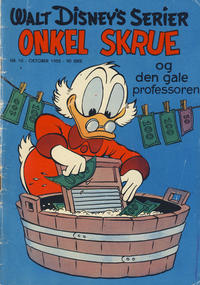 Cover Thumbnail for Walt Disney's serier (Hjemmet, 1950 series) #10/1955