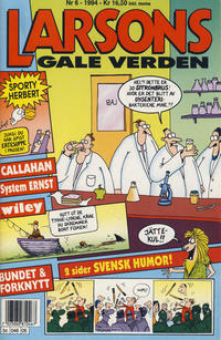 Cover Thumbnail for Larsons gale verden (Bladkompaniet, 1992 series) #6/1994