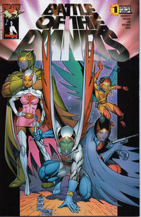 Cover Thumbnail for Battle of the Planets (Image, 2002 series) #1 [Cover B]
