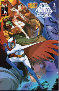 Cover Thumbnail for Battle of the Planets (Image, 2002 series) #1 [Wizard World Convention Exclusive Cover]