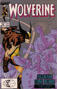 Cover for Wolverine (Marvel, 1988 series) #16 [Direct Edition]