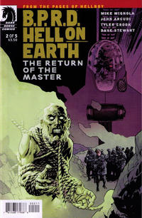 Cover Thumbnail for B.P.R.D. Hell on Earth: The Return of the Master (Dark Horse, 2012 series) #2 [99]