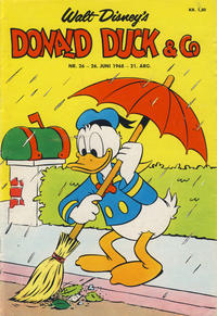 Cover Thumbnail for Donald Duck & Co (Hjemmet, 1948 series) #26/1968