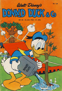 Cover Thumbnail for Donald Duck & Co (Hjemmet, 1948 series) #30/1968