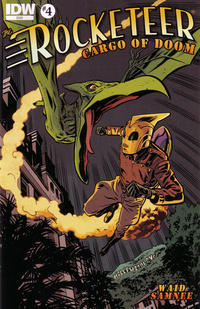 Cover Thumbnail for The Rocketeer: Cargo of Doom (IDW, 2012 series) #4