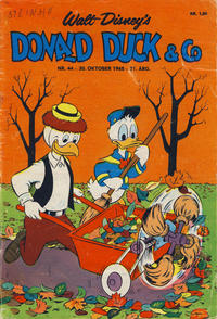 Cover Thumbnail for Donald Duck & Co (Hjemmet, 1948 series) #44/1968