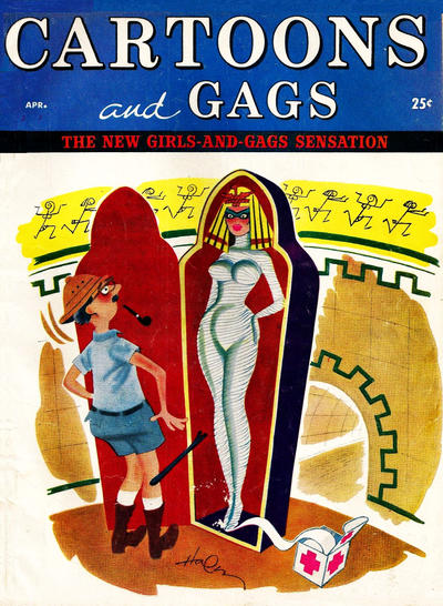 Cover for Cartoons and Gags (Marvel, 1959 series) #v5#2