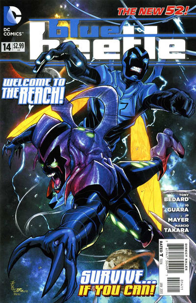 Cover for Blue Beetle (2011 series) #14