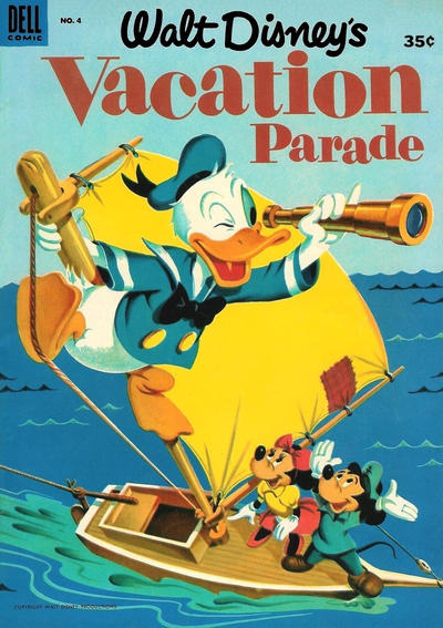 Cover for Vacation Parade (Dell, 1950 series) #4 [35¢ edition]