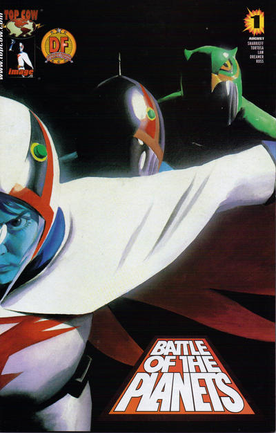 Cover for Battle of the Planets (Image, 2002 series) #1 [Cover B]