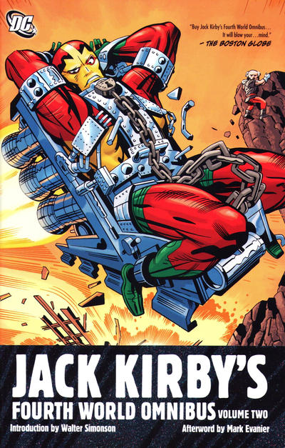 Cover for Jack Kirby's Fourth World Omnibus (2011 series) #2