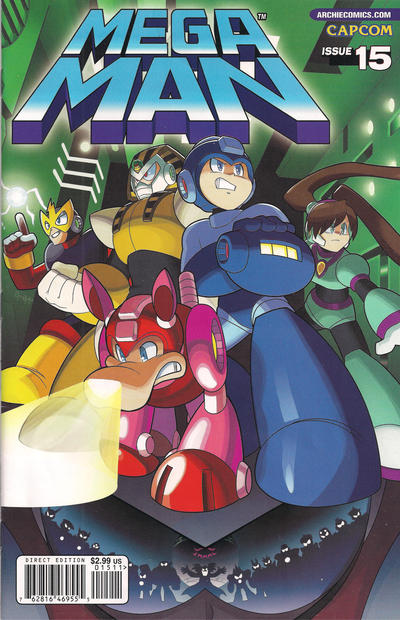 Cover for Mega Man (Archie, 2011 series) #15