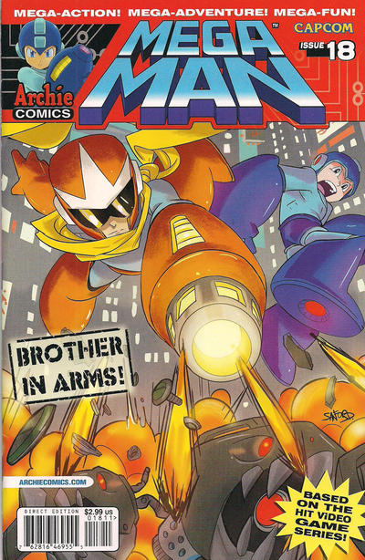 Cover for Mega Man (Archie, 2011 series) #18