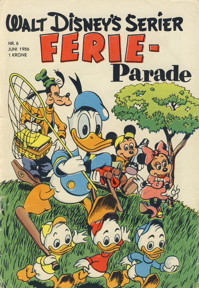 Cover for Walt Disney's serier (Hjemmet, 1950 series) #6/1956