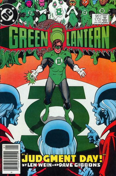 Cover for Green Lantern (DC, 1976 series) #172 [Direct-Sales]