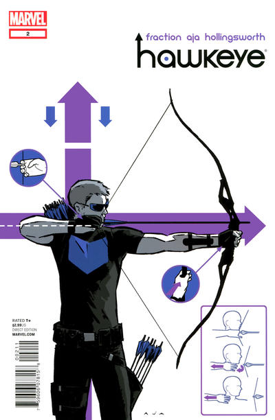 Cover for Hawkeye (Marvel, 2012 series) #2 [5th printing]