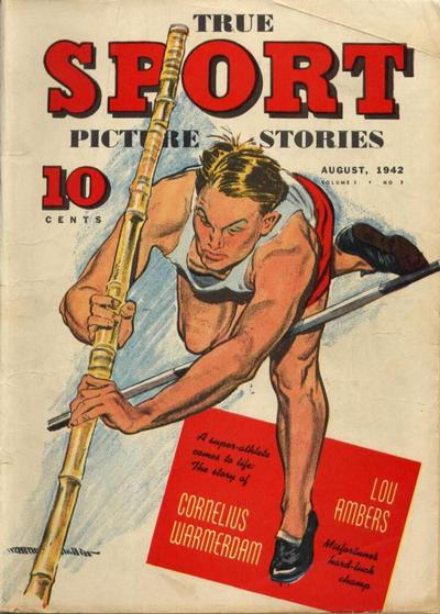 Cover for True Sport Picture Stories (Street and Smith, 1942 series) #v1#8