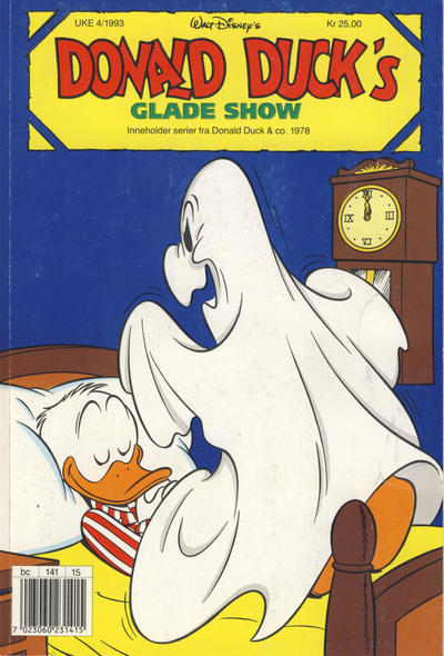 Cover for Donald Duck's Show (Hjemmet, 1957 series) #glade show [1993] [Reutsendelse]