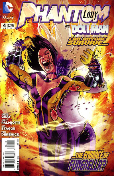 Cover for Phantom Lady (DC, 2012 series) #4