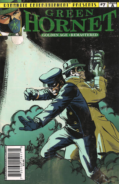Cover for The Green Hornet: Golden Age Re-Mastered (Dynamite Entertainment, 2010 series) #7