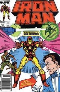 Cover Thumbnail for Iron Man (Marvel, 1968 series) #235 [Newsstand]