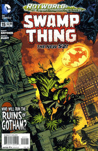Cover Thumbnail for Swamp Thing (DC, 2011 series) #15