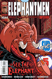 Cover Thumbnail for Elephantmen (Image, 2006 series) #44 [Chris Giarrusso]